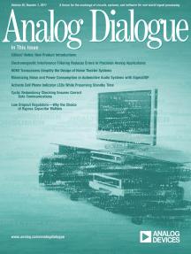 Analog Dialogue, Volume 45, Number 1