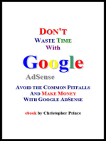 Don't Waste Time with Google AdSense