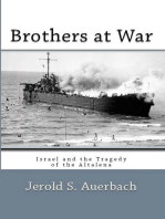 Brothers at War: Israel and the Tragedy of the Altalena