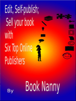 Edit, Self-publish; Sell your book with Six Top Online Publishers