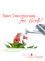 Teen Devotionals...for Girls