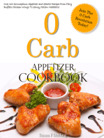 0 Carb Appetizer Cookbook
