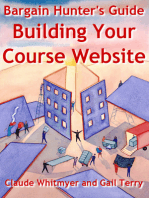 Bargain Hunter's Guide to Building Your Course Web Site