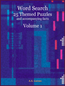 Word Search: 25 Themed Puzzles (and accompanying facts) Volume 1