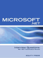 Microsoft .NET Interview Questions