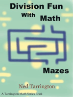 Division Fun With Math Mazes