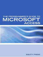 The Programmer's Guide to Microsoft Access