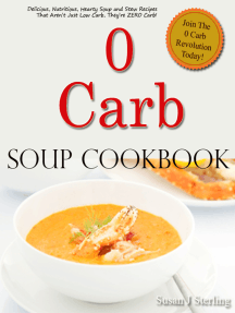 0 Carb Soup Cookbook