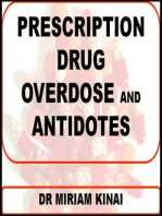 Prescription Drug Overdose and Antidotes