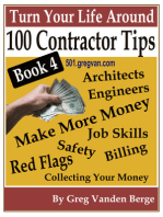 100 Tips For Contractors: Book 4