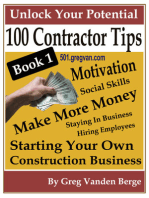 100 Tips For Contractors: Book 1