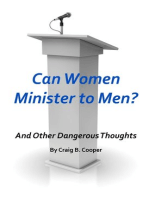Can Women Minister to Men?