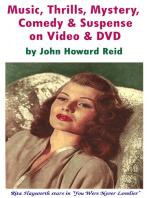 Music, Thrills, Mystery, Comedy & Suspense on Video & DVD