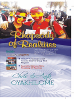 Rhapsody of Realities July 2011 Edition