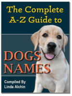The Complete A-Z Guide to Dog Names