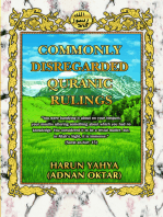 Commonly Disregarded Qur'anic Rulings
