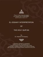 El-Essawy Interpretation of the Holy Qur'an