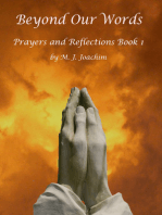 Beyond Our Words Prayers and Reflections Book 1