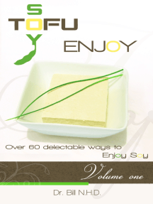 TOFU SOY ENJOY Cook Book Volume One