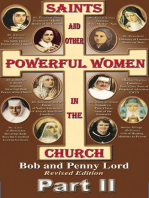 Saints and Other Powerful Women in the Church Part II