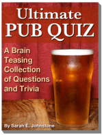 Ultimate Pub Quiz