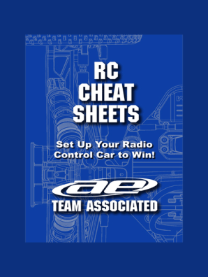 RC Cheat Sheets by Team Associated - Read Online