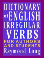 Dictionary of English Irregular Verbs