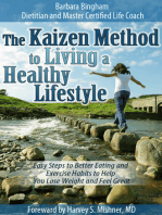 The Kaizen Method to Living a Healthy Lifestyle