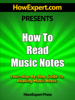How To Read Music Notes