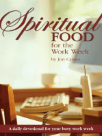 Spiritual Food for the Work Week