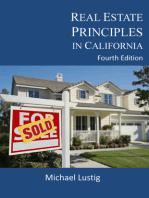 Real Estate Principles in California