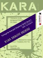 """""""Kara"""" Dergisi Seckisi"""