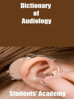 Dictionary of Audiology
