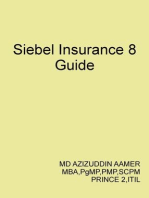Siebel Insurance 8 Guide