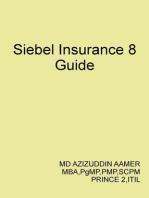 Siebel Insurance 8 Guide
