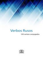 Verbos rusos (100 verbos conjugados)