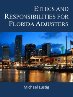 Ethics and Responsibilities for Florida Adjusters