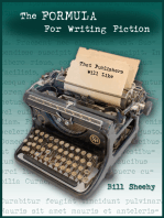 The FORMULA For Writing Fiction That Publishers Will Like