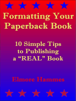 Formatting Your Paperback Book