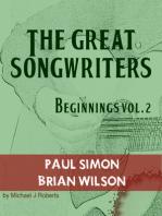 The Great Songwriters - Beginnings Vol 2