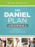 Daniel Plan Journal: 40 Days to a Healthier Life