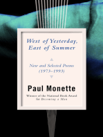 West of Yesterday, East of Summer