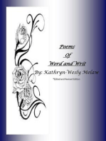 Poems of Word and Writ