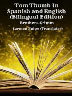 Tom Thumb In Spanish and English (Bilingual Edition)