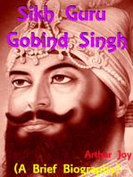 Sikh Guru Gobind Singh (A Brief Biography)