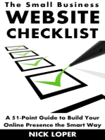 The Small Business Website Checklist
