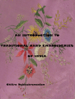 An Introduction to Traditional Hand Embroideries of India