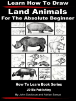 Learn How to Draw Land Animals