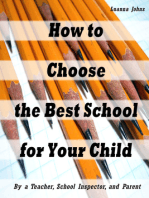 How to Choose the Best School for Your Child (By a Teacher, School Inspector and Parent)