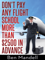 Don't Pay Any Flight School More Than $2500 In Advance
